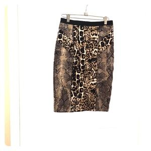 Tracy Reese Hot Leopard Skirt